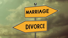 Marriage divorce counseling married Stock Footage