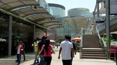 Malls, India Stock Footage
