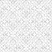 Seamless white 3D pattern, arabic motif - stock illustration