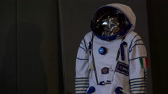 ESA astronauts space suit Stock Footage