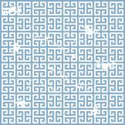 grunge greek pattern - stock illustration
