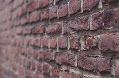 Old brick wall closeup background Stock Photos