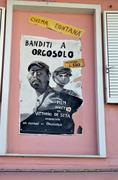 Stock Photo of ORGOSOLO ITALY 4 October 2015 Murales in Orgosolo Italy Since about 1969 the