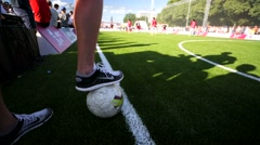 Football match. Stock Footage