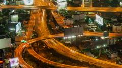 Bangkok traffic_timelapse_HD 3 Stock Footage
