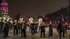 "Orchestra of Mexico performs during the ""Spasskaya Tower"" Stock Footage"