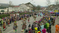 German Carnival Procession Timelapse Part3 - stock footage