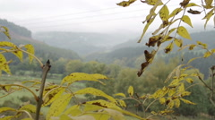 The beautiful Welsh countryside Stock Footage