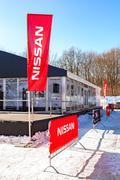 Cars event Nissan X-Tour at the ski resort Krasnaya Glinka in Samara, Russia - stock photo