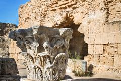 The ruins of Carthage in Tunisia Stock Photos