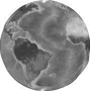 Guilloche Earth Stock Illustration