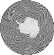 Guilloche Earth - stock illustration
