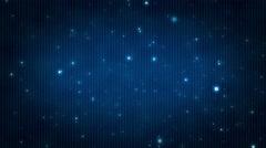 Sparkling Light Blue & White Bokeh Orb Shapes - stock footage