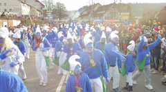Carnival Procession Stock Footage