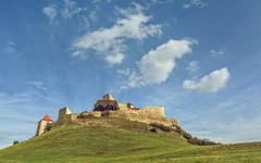 Rupea citadel, Romania Stock Photos