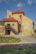 Rupea citadel, Romania - stock photo