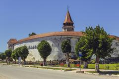 Prejmer fortified church, Romania Stock Photos