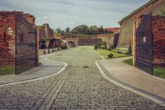 Alba Iulia citadel, Alba Iulia, Romania Stock Photos