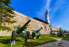 Military Museum in Kalemegdan Belgrade - Serbia Stock Photos