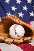 American Baseball - stock photo