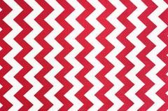 Pattern of red and white striped glides - stock photo