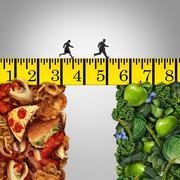 Healthy Lifestyle Change - stock illustration