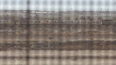 Looking Through the Fence on the US and Mexico Border 2 Stock Footage