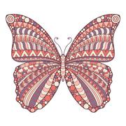 Vector abstract Butterfly - stock illustration