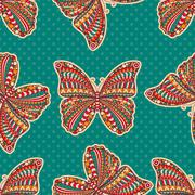 Vector abstract Butterfly Stock Illustration