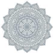 Stock Illustration of Vector round Mandala