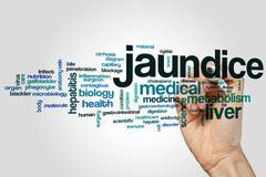 Jaundice word cloud Kuvituskuvat