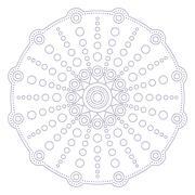 Stock Illustration of Mandala in ethnic style