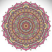 Mandala in ethnic style Stock Illustration