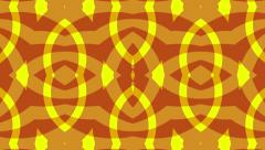 Red yellow background, zigzag symmetry, loop - stock footage