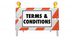 Terms and Conditions Contracts Rules Legal Requirements 4K - stock footage