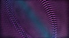 Spinning Pink, White, Purple & Blue Bokeh Orb Ring Patterns - stock footage
