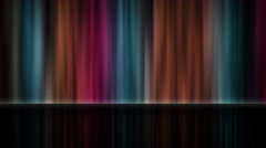 Colorful Rainbow Curtains or Light Rays Patterns - stock footage