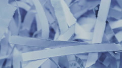 Destroyed Office Documents Stock Footage
