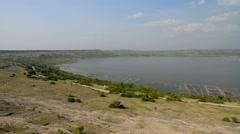Salt lake Katwe in the Katwe, Uganda. Stock Footage