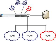 Network Diagram Illustration - stock illustration