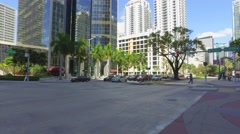 BB&T Bank Brickell Stock Footage