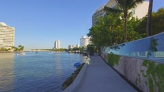 Biscayne Bay Path - stock footage