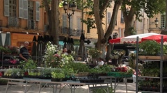 Aix en Provence Stock Footage