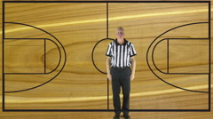 Personal Foul, court Stock Footage