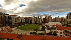 A Time Lapse of Clouds over Quito Stock Footage