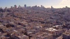 San Francisco City Shot Booming Down - stock footage