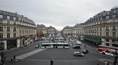 Paris, France - Video  - The Avenue de l'Opera Stock Footage
