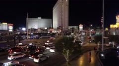 Las Vegas Blvd. - stock footage