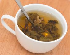 Green Tea with Jasmine Stock Photos