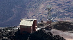 View from Teide peak. Tenerife, Canary, Spain Stock Footage